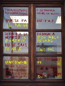 ORAN - CLEA Résidence Mission Communauté de Communes Sud-Avensois 2018 - Mise en situation à la bibliothèque de Glageon avec les élèves de l'école Jacques Brel